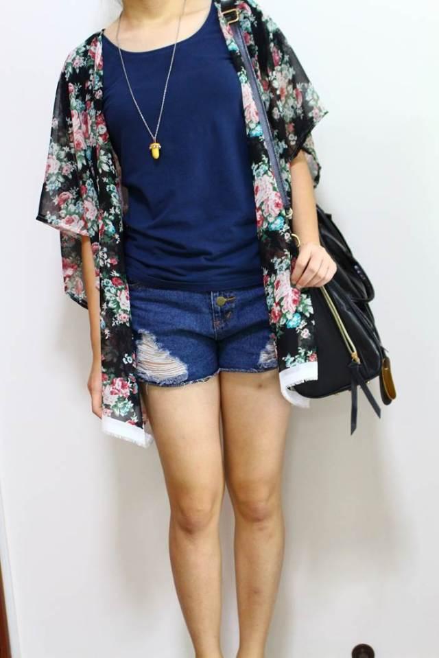 H&M Kimono Cardigan - Sweater Vest